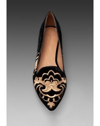 Joie Sabina Flat in Black