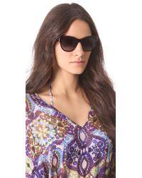Lanvin Brown Gradient Sunglasses