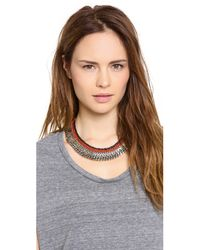 Lizzie Fortunato Metallic The Oxford Necklace