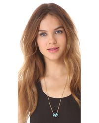 Marc By Marc Jacobs - Blue Sweetie Rings Necklace - Lyst