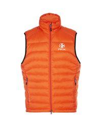 Polo Ralph Lauren | Orange Explorer Down Vest for Men | Lyst