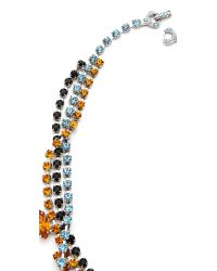 Tom Binns - Metallic Topaz Crystal Tangled Necklace - Lyst