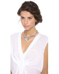 Tom Binns - Metallic Grande Dame Crystal Tangled Necklace - Lyst