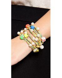 Venessa Arizaga - Multicolor Tgif Necklace Bracelet - Lyst