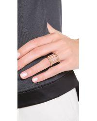 Vita Fede | Metallic Pandora Crystal Ring | Lyst
