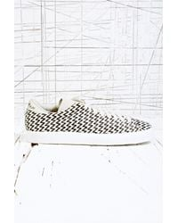 Adidas Black Match Play Pony Skin Trainers in Zigzag for men