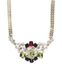 ASOS - Multicolor Premium Night Garden Necklace - Lyst