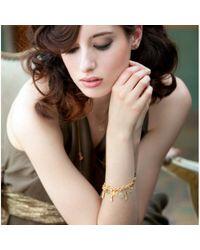 Astley Clarke Metallic Carnelian Charm Bracelet