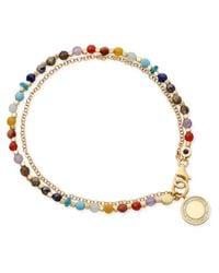 Astley Clarke - Metallic Rainbow Cosmos Friendship Bracelet - Lyst