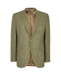 Barbour Green Gadwall Tweed Jacket for men