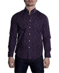 Ben Sherman Blue Clerkenwell Printed Shirt for men