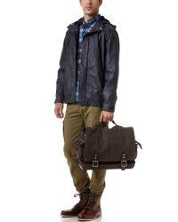 Ernest Alexander Brown Hudson Messenger Bag for men