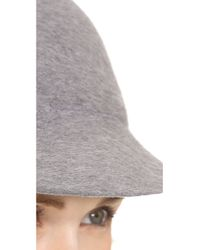 Eugenia Kim Gray Joey Wool Baseball Cap