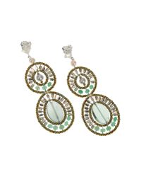 First People First - Green Earrings - Lyst