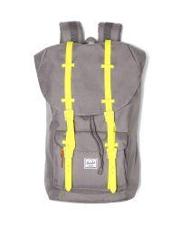 Herschel Supply Co. Gray Little America Bicolor Backpack for men