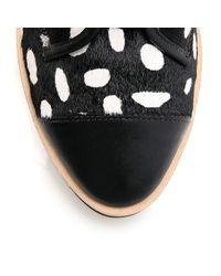 Loeffler Randall Black Octavia High Top Sneaker