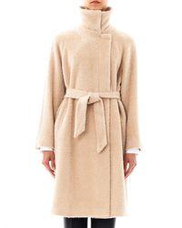 Max Mara Studio Natural Fatuo Coat