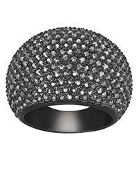 Swarovski | Black Stone Ring | Lyst