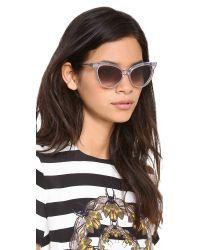 Wildfox Multicolor Le Femme Sunglasses