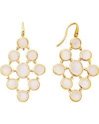 Astley Clarke | Metallic Moonstone Chandeliers 18ct Gold Vermeil Earrings | Lyst