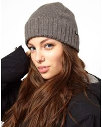 Cheap Monday Gray Demi Beanie Hat