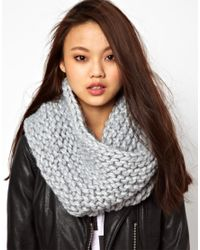 Cheap Monday Gray Mega Snood