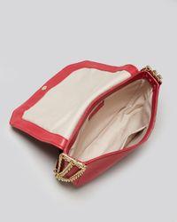 Foley + Corinna Red Foley Corinna Shoulder Bag Plated