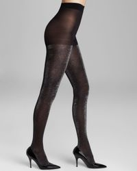 kate spade new york Black Shimmer Tights