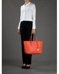 Michael Kors Orange Tote Bag
