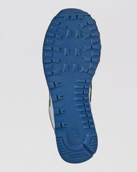 New Balance Gray Ml574 Sole Pack Collection Running Sneakers for men