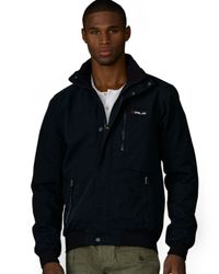 Ralph Lauren Black Polo Rlx Mckinley Utility Jacket for men