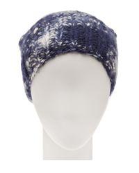 The Elder Statesman Blue Straight Ski Cap