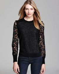 Tory Burch Black Dina Sweater