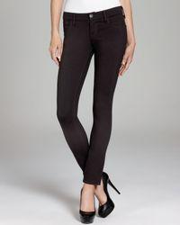 True Religion Jeans Chrissy Ponte Skinny in Black