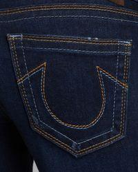 True Religion Jeans Lexy Mini Boot in Blue Crow