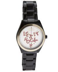 Vivienne Westwood Black Let It Rock Watch