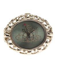 Vivienne Westwood Metallic Ring Watch