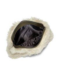 3.1 Phillip Lim Natural 31 Minute Shearling Cosmetic Bag