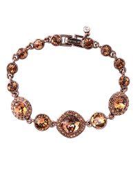 Givenchy - Brown Cocktail Bling Bracelet - Lyst