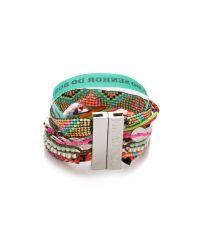 Hipanema - Red Mexico Bracelet - Lyst