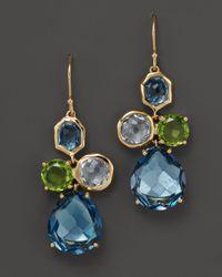 Ippolita - Yellow 18K Gold Rock Candy Gelato Earrings In Tartan Sett - Lyst