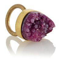 Mary Portas | Purple Amethyst Ring | Lyst