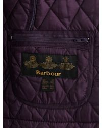 Barbour Purple Annandale Quilted Jacket