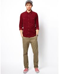 Native Youth - Red Cord Shirt for Men - Lyst