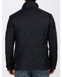 Barbour Blue Grayson Quilted Jacket for men