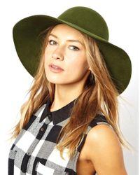 Cheap Monday Green Criss Floppy Hat