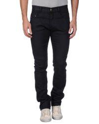 CoSTUME NATIONAL Black Denim Pants for men