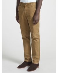 John Lewis Natural Mccormack Twill Trousers for men