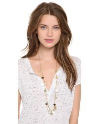Kenneth Jay Lane - Metallic Star Necklace - Lyst