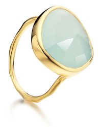 Monica Vinader - Metallic Siren Ring - Lyst